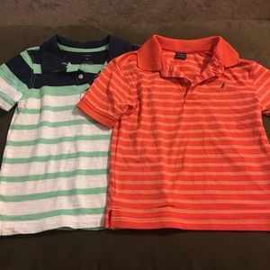 Lot of 2 Polo shirts Boys 3T